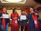 中国红纯手绘原创羊绒围巾