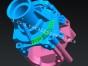无锡三维扫描 结构设计 仿行画图 新区反求样品数模