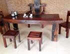 定做老船木茶桌椅组合客厅中式功夫茶桌沉船木泡茶台全国发货