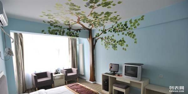 郑州墙面彩绘设计,墙体彩绘装修,路得专业团队