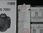 佳能700D18 55套机,有发票,说明书,UV镜。附送一快电池