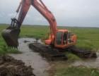 常州市天宁区中国国机215型水陆挖掘机出租服务至上