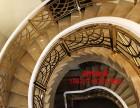 金华欧式镜面铜艺雕花楼梯扶手 铝板12mm整板雕花护栏扶手价