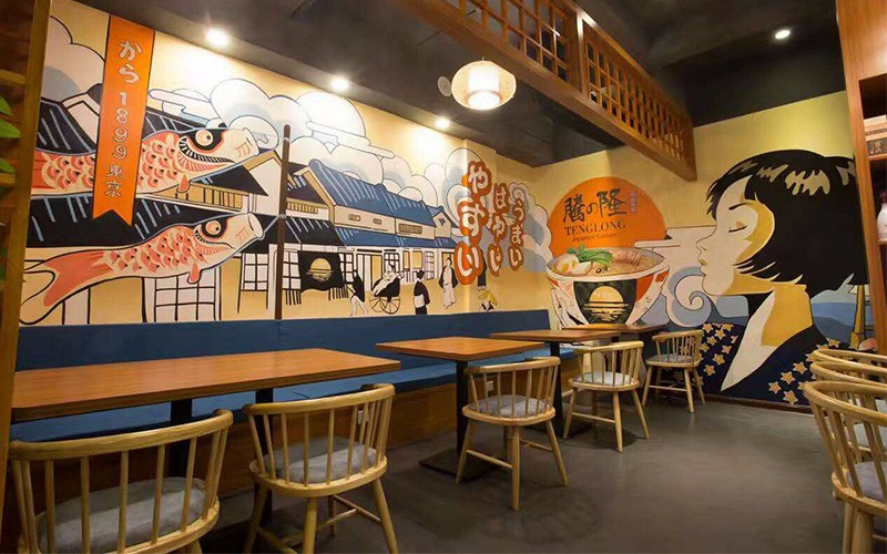 黄浦区墙绘公司手绘墙/彩绘涂鸦/案例展示
