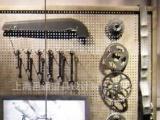 橱窗制定-橱窗道具-橱窗展示 金属自行车造型轮,零配件