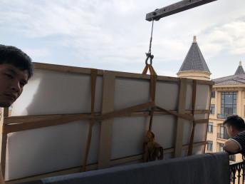 上海鞍山路吊装沙发-黄埔吊沙发上楼