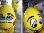模型专家上海升美宝龙彩蛋玻璃钢雕塑商场模型装饰落地摆件