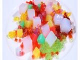 椰纤果果酱抗冻型椰果 冷饮 刨冰 沙冰 冰粥 冰激凌配料 水果口