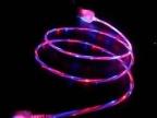 光纤发光线数据线耳机线发光线透明丝