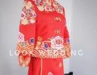 高端礼服婚纱、中式跟妆伴娘服