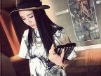 【艾佳依】2014年新款 水墨画圆领韩版T恤宽松女装气质上衣潮款