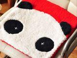 韩版热销坐垫style熊猫沙发垫/汽车坐垫/餐椅办公美臀坐垫