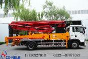 青岛重工|青岛科尼乐集团混凝土泵车怎么样
