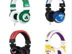 新款 NBA球队骷髏头 头戴式时尚运动 双线版 时尚3.5 iphone4耳机