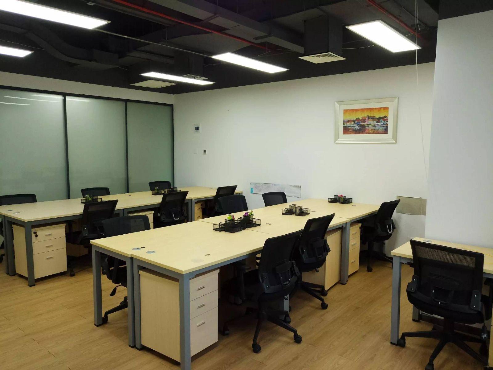 直租前海自贸区招商租赁凭证写字楼办公室拎包办公