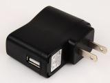 康扬厂家批发 USB充电器 直充头 带IC 提示灯 音响mp3充