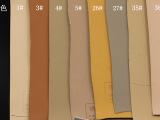 磨砂商标革无纺布底压变表带PVC革PU人造革1.4MM