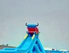 天蕊游乐厂家供应充气城堡滑梯大型滑梯水上乐园各种款式水上滑梯