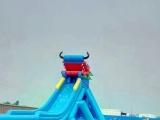 厂家直销水上乐园移动水上滑梯水上漂浮各种款式