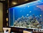 扬州江都大型鱼缸定做定制亚克力鱼缸 玄关隔断定做鱼缸 嵌入式