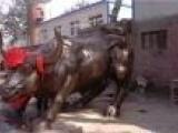 恒保发铜雕牛雕塑(图)_铸造铜牛图片
