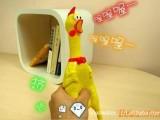宠物玩具 怪叫鸡 发泄鸡   惨叫鸡  酷似鸡惨叫声 超搞笑