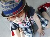 外贸原单儿童帽子批发 宝宝 麻料礼帽 韩版爵士帽 男孩小礼帽
