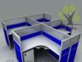 多人位屏风办公桌45款32款屏风办公桌颜色可选