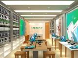 重庆手机店装修设计效果图 手机店装修工装公司