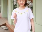 供应2014夏季新款好质量短袖T恤 韩版新款女式小衫 优质女装批发