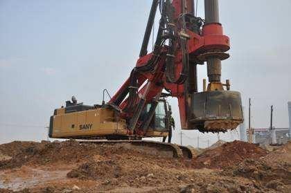百色市崇左市旋挖钻机施工公司低价格承接桩基础工程施工