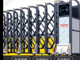云南昆明电动伸缩门不锈钢伸缩门自动推拉门学校工厂园区 大门
