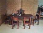 老船木中式功夫茶桌茶几茶台户外实木家具