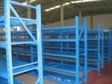 供应甘肃白银重型货架与兰州中型货架报价
