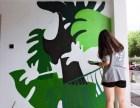鄞州万达附近专业装修墙绘墙体彩绘立体画涂鸦