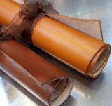 头层树膏皮 1.8-2.0mm手工品牌原版植鞣真皮