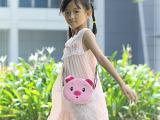 毛绒猪猪公仔儿童小挎包 POLIDA堡丽达新品轻工手工艺制品