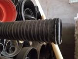 PE材质110波纹管黑色白色,PVC110波纹管
