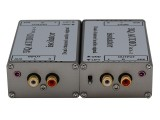 音频隔离器 RCA 入RCA出音频滤波器 音响电流声滤波器