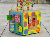 mybusy多功能大绕珠箱 金宝贝玩具 360度转动 玩具批发