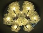 灯具安装维修客厅水晶大灯吊灯吸顶灯水电安装维修