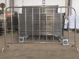 潮州厂家定制不锈钢铁马护栏 市政工程交通安全临时围栏