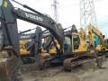 二手沃尔沃挖掘机出售210和240-290转让挖机市场