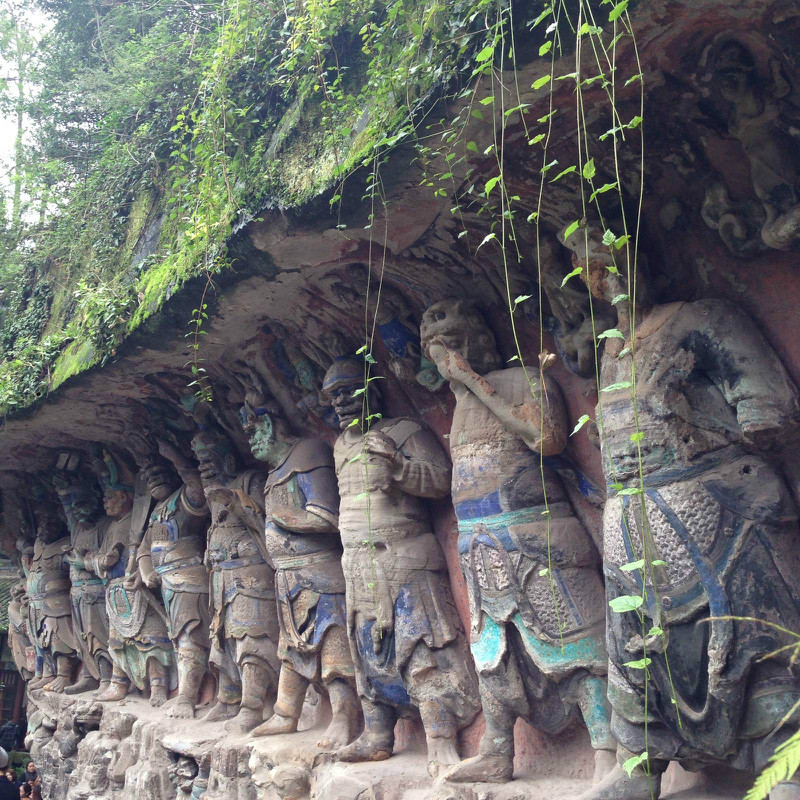 重庆大足石刻世界文化遗产一日游