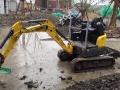上海专业小型挖机出租 微型挖机出租