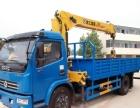 临夏东风多利卡五吨5.2米货箱随车吊厂家现车优惠!
