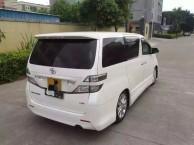 12丰田VF 3.5二手车,丰田VF高配白色米内,无钥匙进车