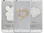 苹果5s手机壳套 iPhone4s手机保护套壳 钻壳水钻镶钻日高糖衣透明