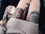 南昌纹身,想性感还不简单,较让男人无法抗拒的刺青位置