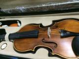 哑光4/4虎纹小提琴低价转出 仅用过一次